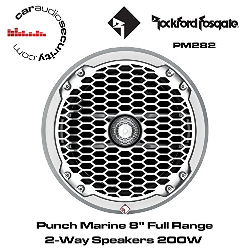 "PM282W-B - Rockford Fosgate 8"" 400W Punch Series Wakeboard T"