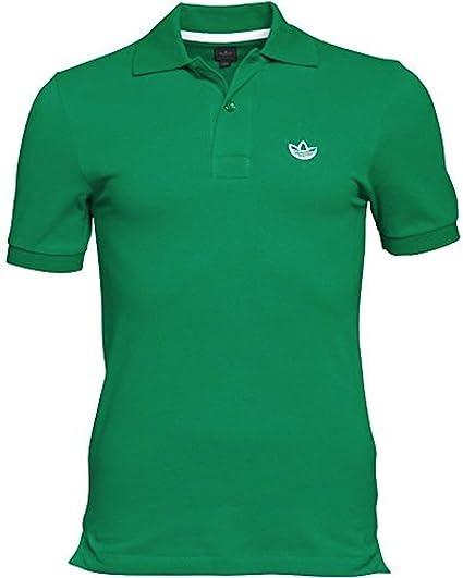 adidas Los Hombres del trébol piquie Polo Camisa XXS: Amazon.es ...