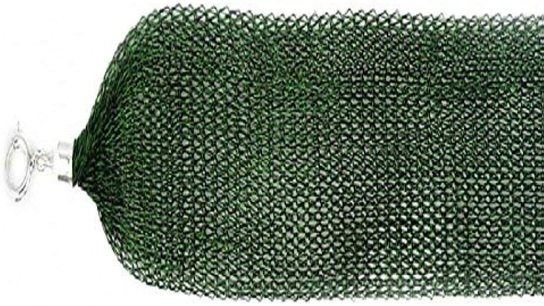 noureda jardín verde malla de titanio collar con plata de ley cierre springring: Amazon.es: Joyería