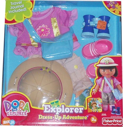 Dora the Explorer Dress Up Adventure Forest