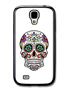Cool Mexican Sugar Skull Hipster case for Samsung Galaxy S4