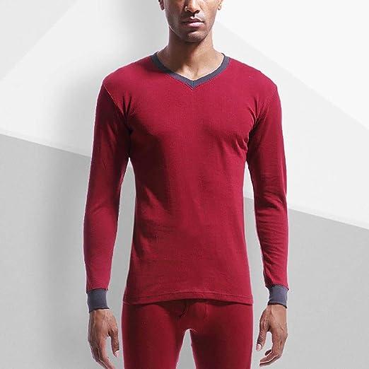 Set de ropa térmica para hombre Conjunto de ropa interior térmica ...
