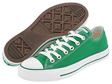 c20ba38d4d0 Image Unavailable. Image not available for. Color  Converse Chuck Taylor All  Star Shoes (1J792) Low Top in Kelly Green