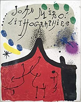 joan miro lithographs vol 1