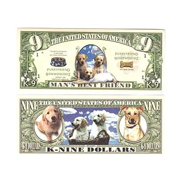 Imprints Plus Dog Breeds (A-D) Alaskan Malamute 15-oz Coffee Mug Bundle with Non-Negotiable K-Nine Cash (alaskan malamute 009) 2