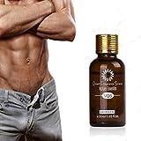 AMA(TM)® Big Penis Oil Penis Enlargement Essential Oil Male Massage Cream Men's Penis Care Delayed Sex (Brown)