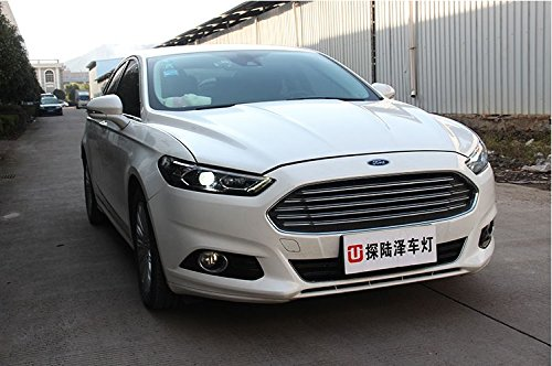 GOWE Car Styling For Ford Mondeo 2013-2015 LED Headlight for Fusion Head Lamp LED Daytime Running Light LED DRL Bi-Xenon HID Color Temperature:5000k;Wattage:55w 2
