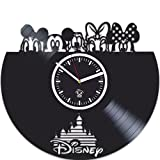 Kovides Walt Disney, Cartoons Movie, Vinyl Wall Clock, Best Gift For Girl, Mickey Mouse, Vinyl Record, Birthday Gift, Silent, Wall Sticker, Modern Wall Art, Pictures Castle Home Decor