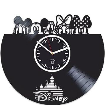 Kovides Walt Disney, Cartoons Movie, Vinyl Wall Clock, Best Gift For Girl, Mickey Mouse, Vinyl Record, Birthday Gift, Silent, Wall Sticker, Modern Wall Art, Pictures Castle Home Decor