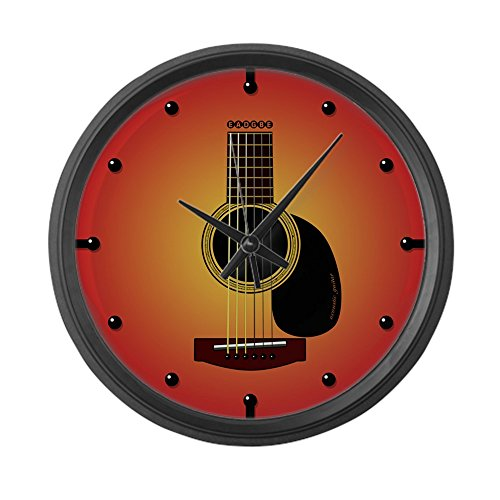 CafePress - Acoustic Guitar Cherry Sunburst - Large 17