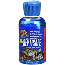 Zoo Med Laboratories SZMWC2 Reptisafe Water Conditioner, 2.25-Ounce
