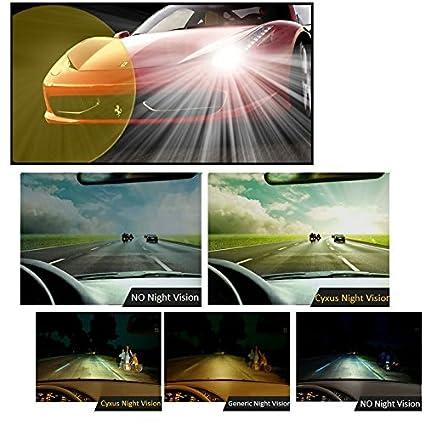 Cyxus Flash aviateur classique Verres miroir polarisées Lunettes de soleil  à clipser Lunettes   anti 256baabbd5c6