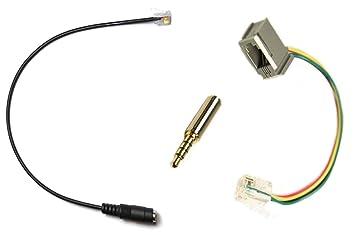 Amazon.com: Cisco RJ, adaptador/convertidor de audí ...