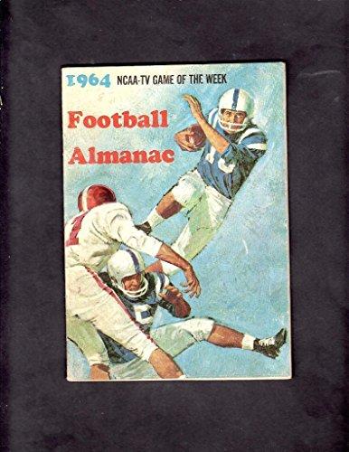 (1964 FOOTBALL ALMANAC NCAA TV GAME OF THE WEEK)