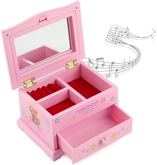 BREIS Joyero Musical para niña, Caja de joyería para niños, Caja ...