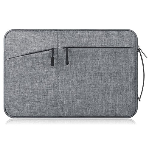 Solo 360 Mens Suits (Gavarnie Laptop Sleeve For 13-13.3Inch Macbook Air/ Macbook Pro/ Retina Display / 12.9 Inch iPad,Drop-proof Ultrabook Tablet Briefcase Carrying Bag Pouch with Handle and Accessory Storage, Gray)