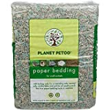 PETCO Small Animal Paper Bedding with Baking Soda, 60 liters, Color:Blue