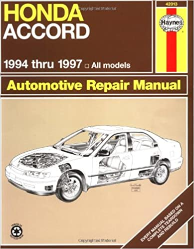 Honda accord 9497 haynes repair manuals haynes 9781563923234 honda accord 9497 haynes repair manuals 1st edition fandeluxe Choice Image