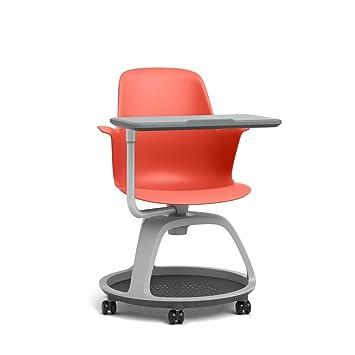 Steelcase nodo multiusos silla: Base de trípode - estándar alfombra ruedas: Amazon.es: Hogar