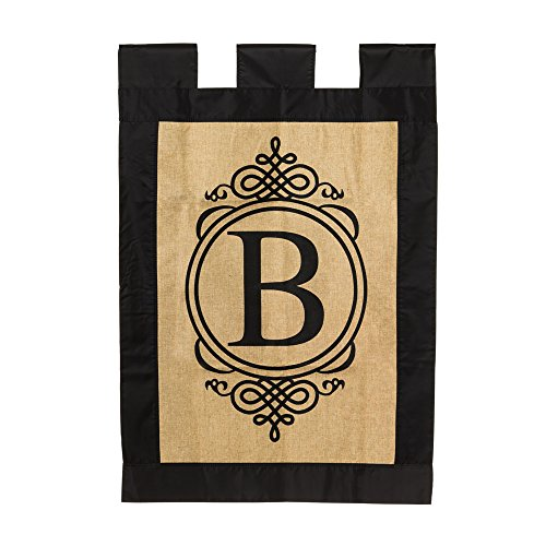 Monogram Vertical Flag Letter: B (28