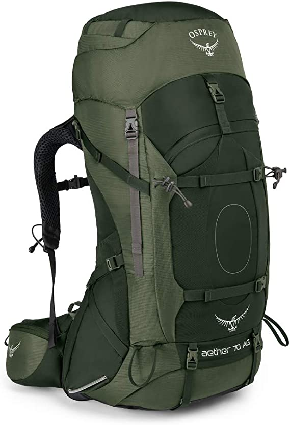 Osprey Aether 85L Large Mens Hiking Rucksack Pack Harness Size:Large