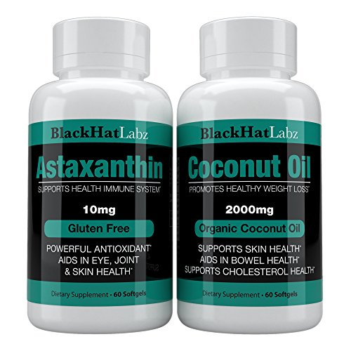 Coconut Oil With Astaxanthin