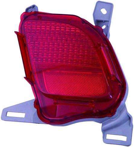 Right Hand - Passenger Rear Bumper Reflector NSF TYC For//Fit 814800E020 14-18 Toyota Highlander 14-18 Highlander Hybrid