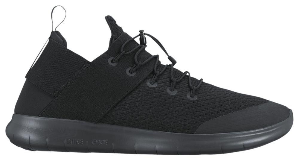 [ナイキ] Nike Free RN Commuter 2017 - メンズ ランニング Black/Dark Grey/Anthracite US13.0 [並行輸入品] B071ZJ257Q