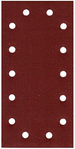 = 120/Ponceuse vibrante 50/x Papier abrasif Feuille abrasive 14/trous 115/x 230/mm k/örn