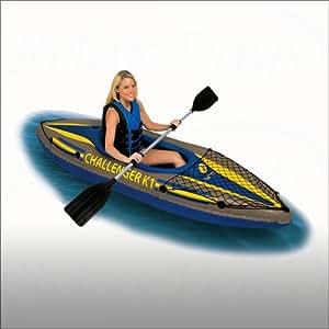 Kayak Intex Challenger K1 - 274 x 76 x 38 cm - 68305