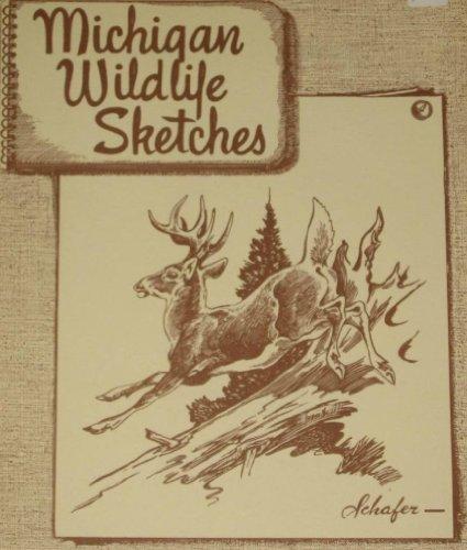 Michigan Wildlife Sketches by G. W. Bradt - Shopping Hillsdale