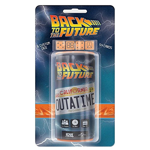 Back to The Future Outatime Dice Game (Back To The Future Board Game)