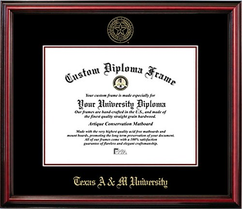 Texas A & M Affordable Diploma Frame (11 X 14) by Diploma Frame Deals