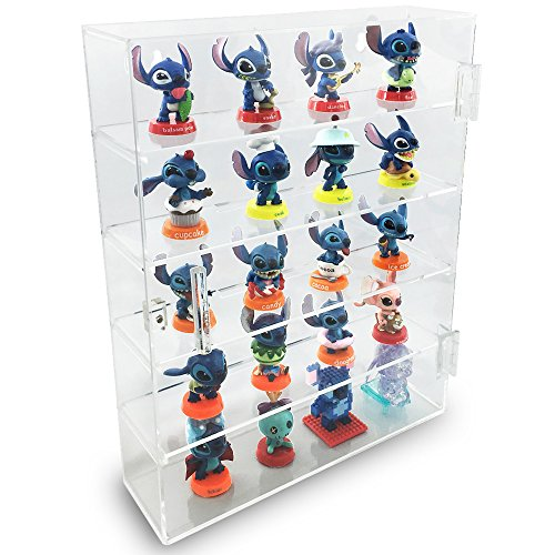 Ikee Design Acrylic Display Rack Case Organizer Storage Box,