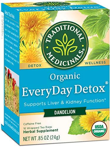 Traditional Medicinals Organic Dandelion Everyday Detox Tea, 16 bags...