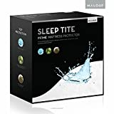 Sleep Tite by Malouf Hypoallergenic 100-Percent Waterproof Mattress Protector-15-Year Warranty, Cal Queen