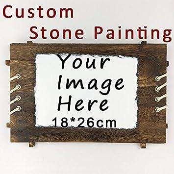 Amazon.com: Placa de pizarra personalizada para fotos de ...