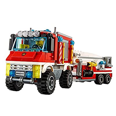 LEGO City Fire Utility Truck Set #60111: Toys & Games