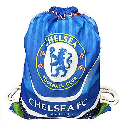 Chelsea Football Clubs Swerve Gym Bag Soccer Drawstring Backpack Drawstring Sport Bag