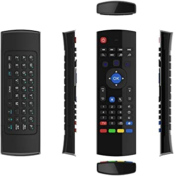 X-Strong ® MXIII 2.4 G Aire Ratón Control remoto por infrarrojos mini teclado 3-Gyro receptor inalámbrico 3-Gsensor para Google Android Smart TV Box IPTV HTPC Mini PC Windows Linux PS3 Xbox 360: