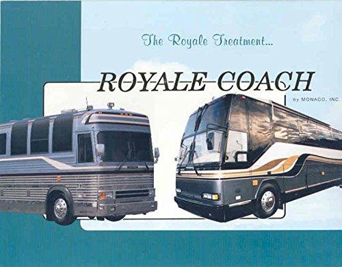 Prevost Bus (1992 Monaco Royale Bus Motorhome RV Brochure Prevost)