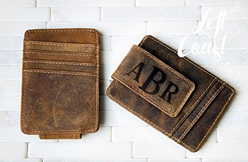 Personalized Money clips for Dad gifts