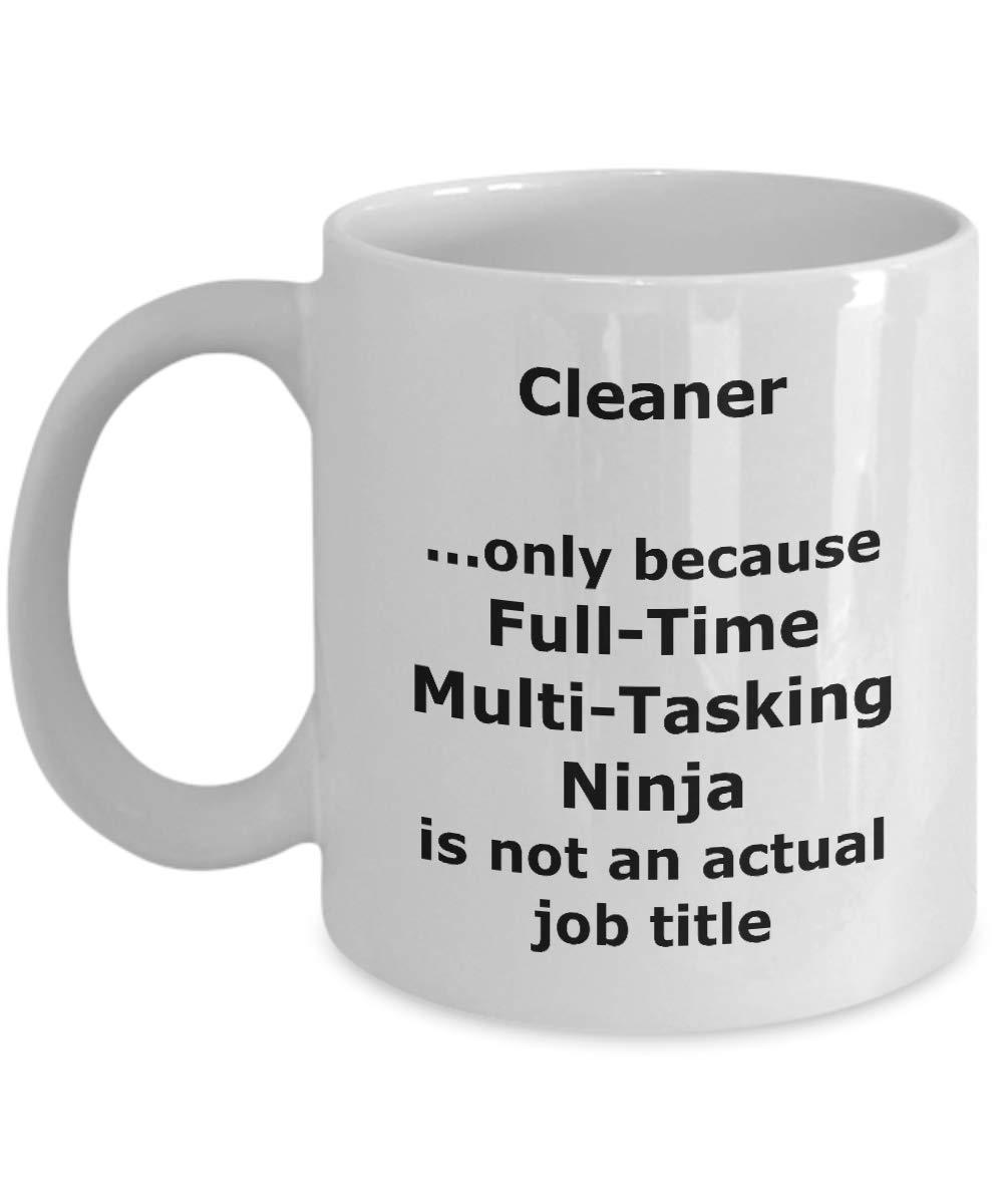 Amazon.com: Ninja Cleaner Funny Gift Mug: Kitchen & Dining