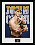 Wrestling Framed Collector Poster - WWE, John Cena Photo (16 x 12 inches)