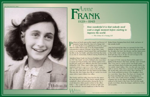 Anne Frank - Writers Who Changed the World - Poster ()