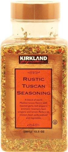 Rustic Blend - Kirkland Signature Rustic Tuscan Seasoning, 13.5-oz. plastic jar