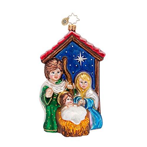 Christopher Radko Religious Christmas Ornament Holy: Christopher Radko Christmas Ornaments