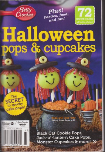 Betty Crocker Halloween Pops & Cupcakes]()