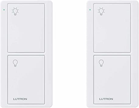 Lutron PJ2-2B-GWH-L01 Pico On//Off Remote Control White
