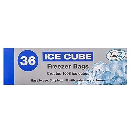 Lote de 36 bolsas de cubo de hielo congelador frigorífico ...